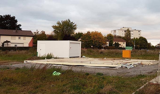 Garagen-Fundament