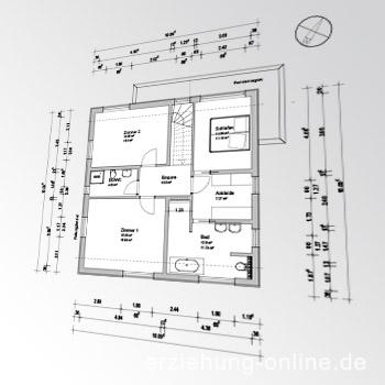 Plan des Architekten