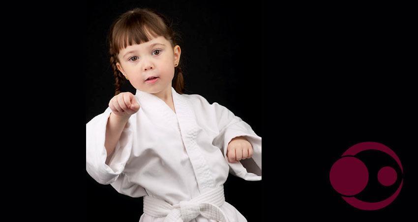 Kleines Kind Kampfsport