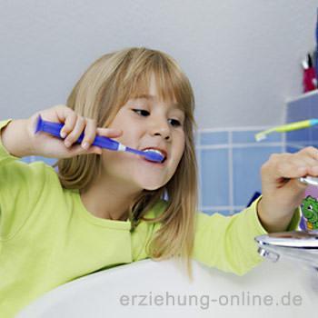 Zähneputzen ab 3 Jahren